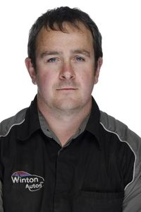 Troy Jukes, Mechanic, Winton Autos
