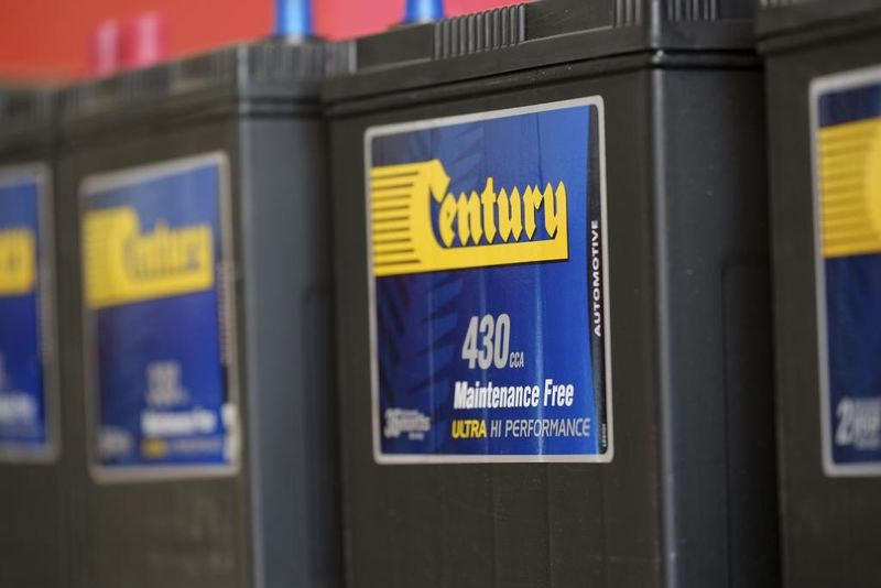Winton Autos stocks Century batteries.