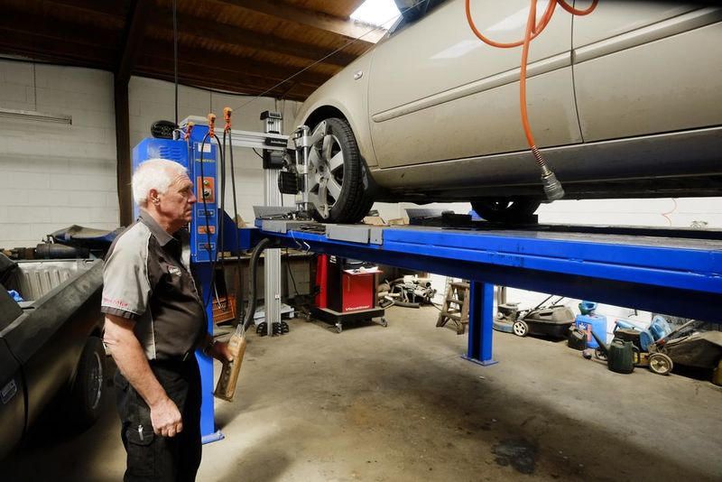 Uneven tyre wear means you need a wheel alignment from Winton Autos.